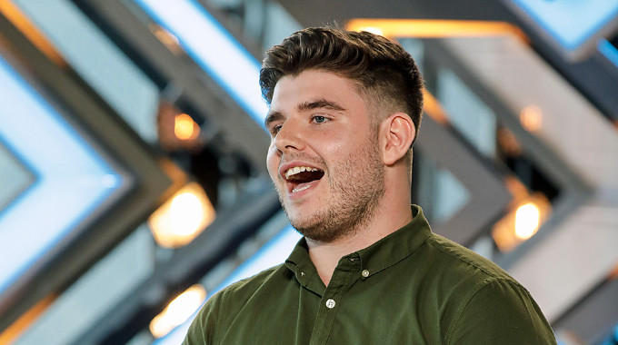 The X Factor - X Factor 2017 show 2: Lloyd Macey audition