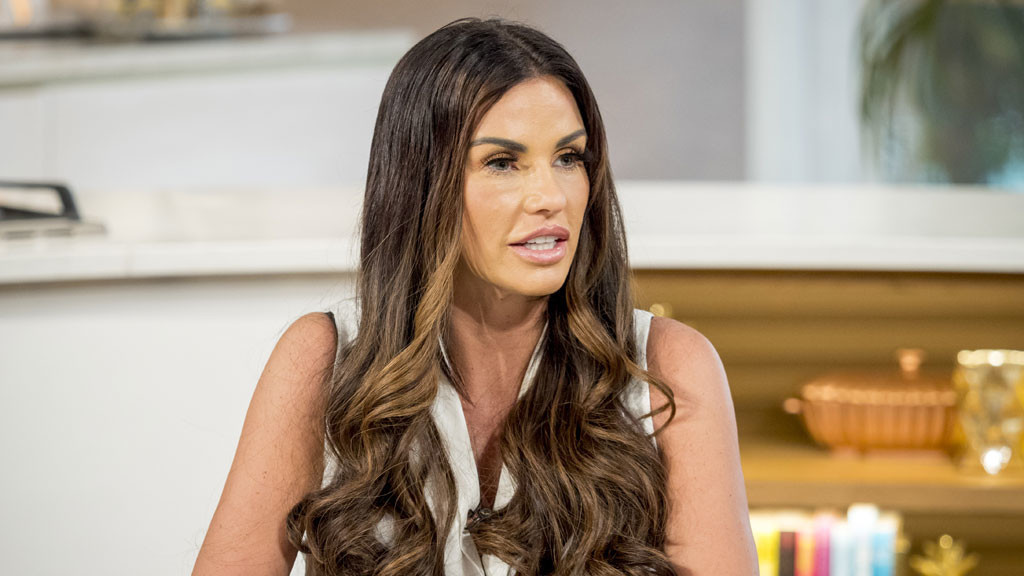 Katie Price speaks out