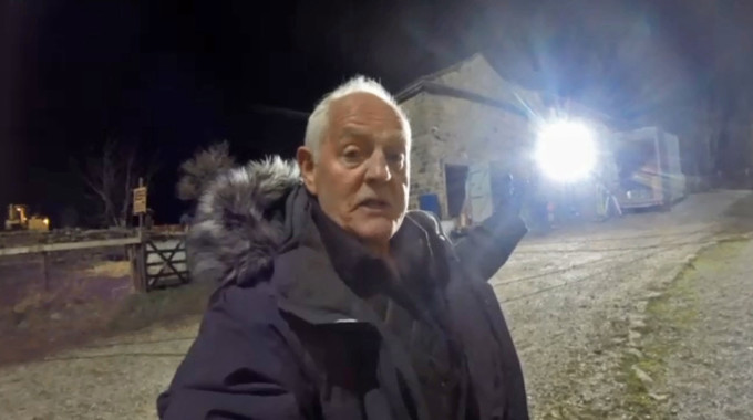 Emmerdale - Behind the scenes: The demolistion of Wishing Well