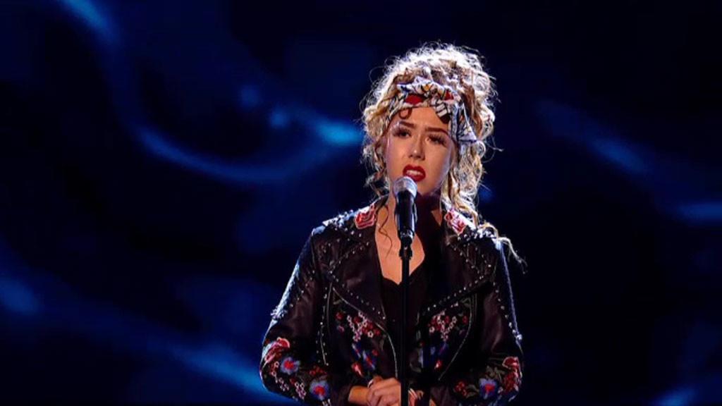 Scarlett sings Wishing You Were Somehow Here Again