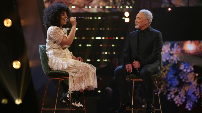 The Voice UK - The Voice Final - Ruti duets with Sir Tom