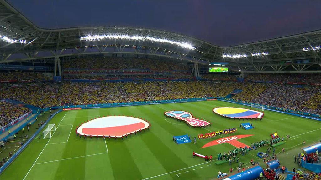 Poland v Colombia