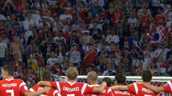 FIFA World Cup 2018 - Russia v Croatia Highlights