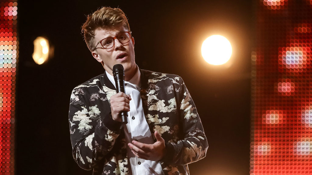 Nathan Grisdale Rises Up for The X Factor