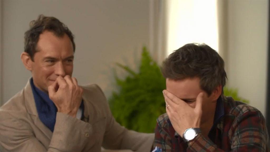 Alison Meets Jude Law and Eddie Redmayne
