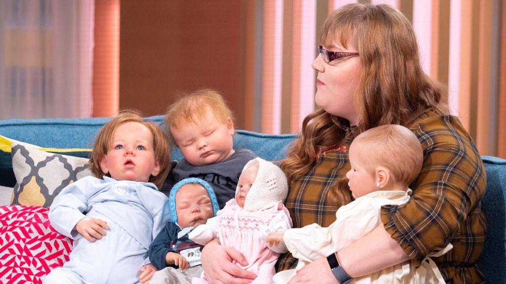 'My 12 children are reborn dolls'
