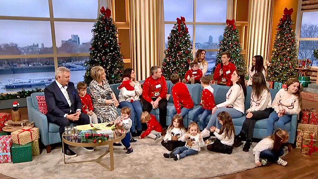 Christmas with Britain's biggest family