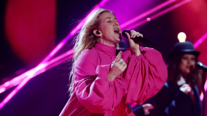 The X Factor - The X Factor 2018: Show 28 - Ellie Goulding lights up Final