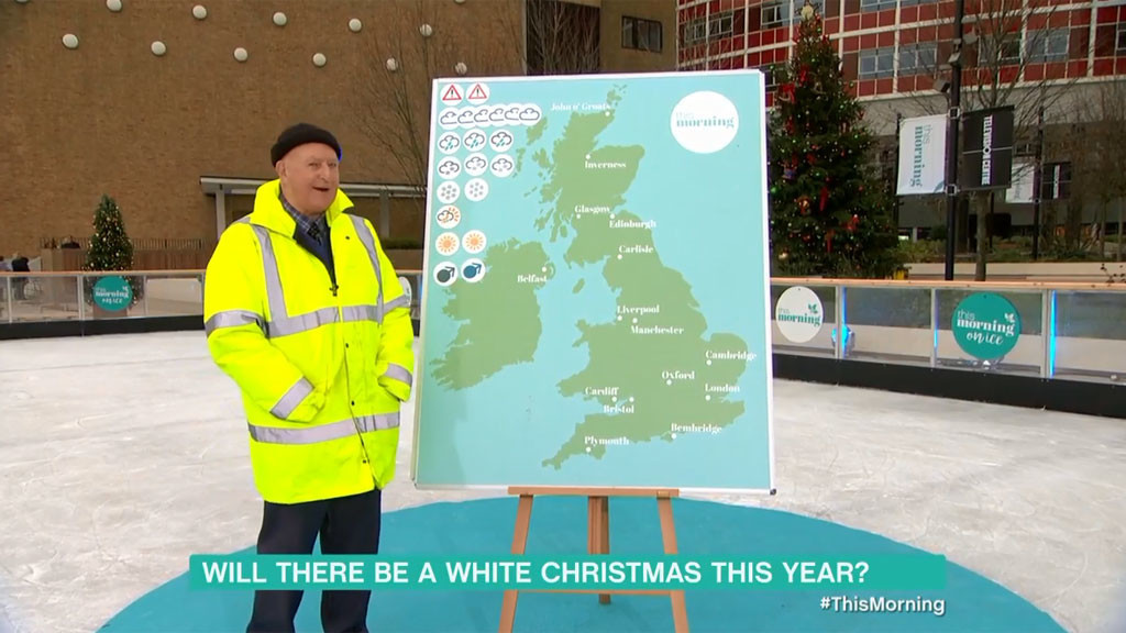 Will there be a white Christmas this year?