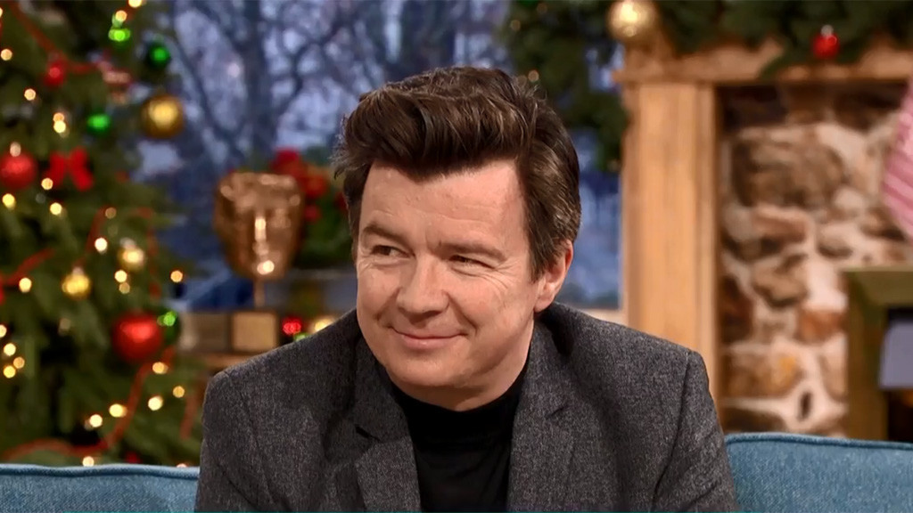 Rick Astley's perfect stocking filler